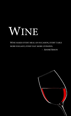 Wine Menu Download